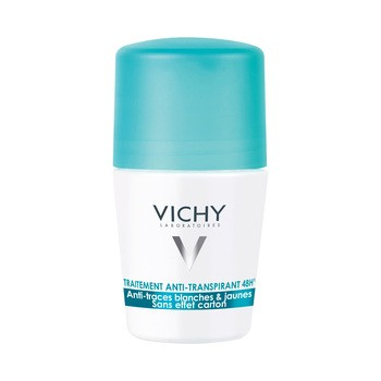 Vichy, antyperspirant w kulce 48h, przeciw śladom na ubraniach, 50 ml