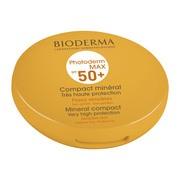 Bioderma Photoderm MAX Compact SPF 50+, mineralny krem przeciwsłoneczny w kompakcie, odcień jasny, 10 g