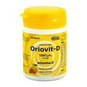 Oriovit-D 1000 j.m., 25 µg, tabletki do żucia, 100 szt.