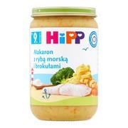 HiPP, makaron z rybą morską i brokułami, po 9. miesiącu, 220 g
