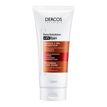 Vichy Dercos Kera-Solutions, 2-minutowa odbudowująca maska do włosów, 200 ml