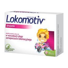 Lokomotiv, drażetki, 15 szt.