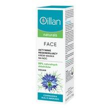 Oillan Naturals Face, aktywnie regenerujący krem-maska do twarzy, 50ml