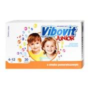 Vibovit Junior, 2 g, proszek, smak pomarańczowy, 30 saszetek