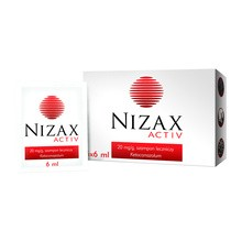 Nizax Activ, 20 mg/g, szampon leczniczy, saszetki po 6 ml, 6 szt.