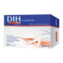 DIH Max Comfort, 1000 mg, tabletki powlekane, 60 szt.