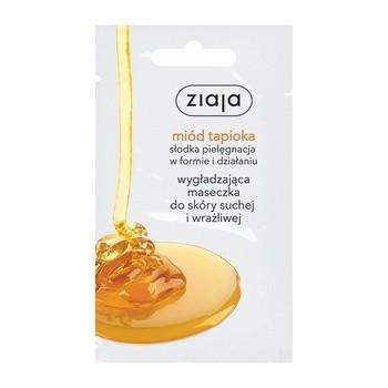 Ziaja Miód Tapioka, wygładzająca maseczka do twarzy, 7 ml (saszetka)