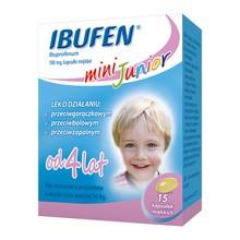 Ibufen mini Junior, 100 mg, kapsułki miękkie, 15 szt.