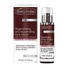 Bielenda Professional, regenerująco-odmładzające serum do twarzy z ekstraktem ze śluzu ślimaka, 30 g