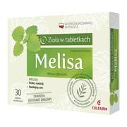 Melisa, tabletki powlekane, 30 szt.