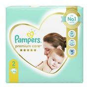 Pampers Premium Care 2 (4−8 kg), pieluszki jednorazowe, 94 szt.