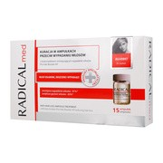 Radical Med, kuracja przeciw wypadaniu włosów dla kobiet, 5 ml, 15 ampułek