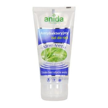 Anida Aloe Vera, antybakteryjny żel do rąk, 50 ml, tuba