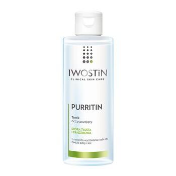 Iwostin Purritin, tonik oczyszczający, skóra tłusta, 215 ml