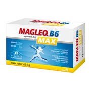 Magleq B6 Max, tabletki powlekane, 45 szt.