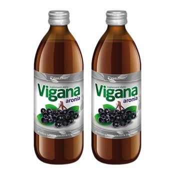 Zestaw Promocyjny Vigana Aronia, sok, 500 ml x 2 opakowania