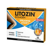 Litozin Kolagen, tabletki, 30 szt.