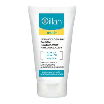 Oillan med+, dermatologiczny balsam nawilżająco-natłuszczający, 150 ml
