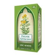 Liść senesu, zioła do zaparzania, 50 g (Herbapol Lublin)