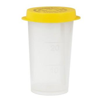 Pojemnik z łopatką do pobierania kału, 20 ml, 1 szt.
