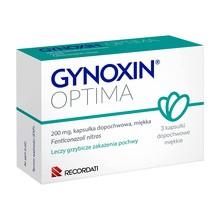 Gynoxin Optima, 200 mg, kapsułki dopochwowe, miękkie, 3 szt.