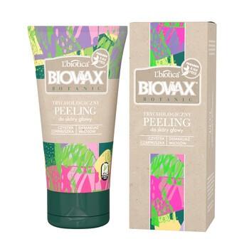 Biovax Botanic, peeling trychologiczny do skóry głowy, 125 ml