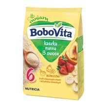 BoboVita, kaszka manna, o smaku owocowym, 6m+, 180 g