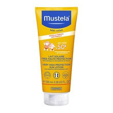 Mustela Bebe-Enfant, mleczko przeciwsłoneczne bardzo wysoka ochrona SPF 50+, 100 ml