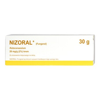 Nizoral, 2% (20 mg/g), krem, 30 g (import równoległy, Delfarma)