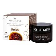 Orientana, naturalny wegański krem do twarzy Reishi na noc, 50 ml