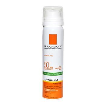 La Roche-Posay Anthelios XL, mgiełka do twarzy przeciw błyszczeniu się skóry, SPF 50, 75 ml