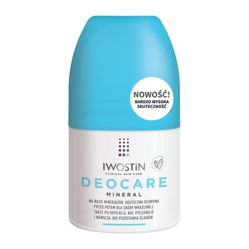 Iwostin Deocare Mineral Antyperspirant, 50 ml