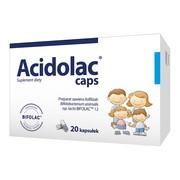 Acidolac caps, kapsułki, 20 szt.