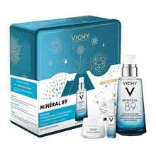 Zestaw Promocyjny Vichy, Mineral 89 Booster nawilżająco-wzmacniający, 50 ml + Aqualia Thermal Bogaty krem nawilżający na dzień, 15 ml GRATIS + Mineral 89 Booster, 10 ml GRATIS