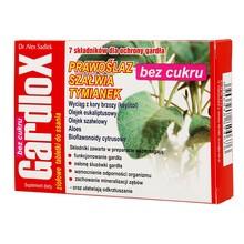 Gardlox, ziołowe tabletki do ssania, bez cukru, 16 szt.
