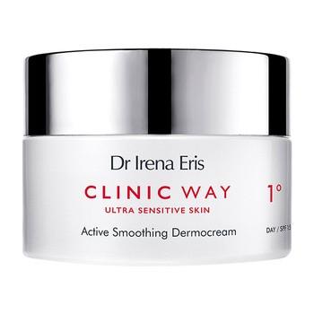 Dr Irena Eris Clinic Way 1°, hialuronowe wygładzenie, krem na dzień, SPF 15, 50 ml
