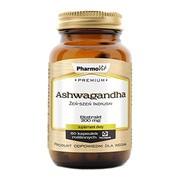 Pharmovit Premium Ashwaganda, Żeń-szeń indyjski, 200 mg, kapsułki, 60 szt.