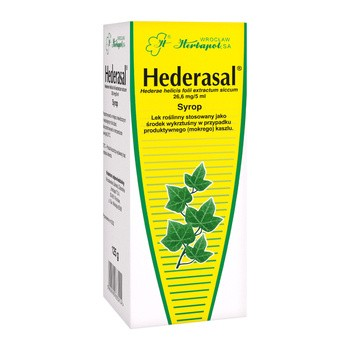 Hederasal, 26,6 mg/5 ml, syrop, 125 g