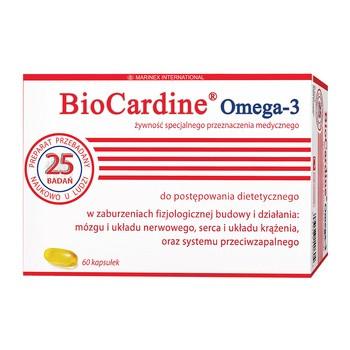 BioCardine Omega-3, kapsułki z olejem, 60 szt.