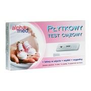 Alphamed hCG, test ciążowy, płytkowy, 1 szt.