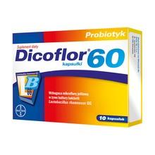 Dicoflor 60, kapsułki, 10 szt.