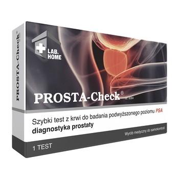 PROSTA-Check, szybki test do wykrywania podwyższonego poziomu antygenu prostaty (PSA), 1 szt.
