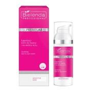 Bielenda Professional SupremeLAB Sensitive Skin, łagodzący krem do twarzy i na okolice oczu, 50 ml