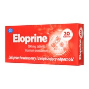 Eloprine, 500 mg, tabletki, 20 szt.