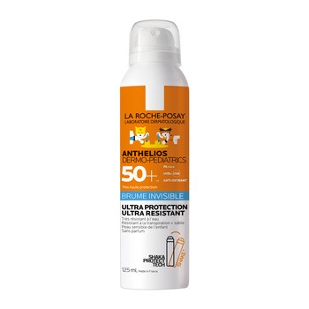 La Roche-Posay Anthelios Dermo-Pediatrics, ochronny spray do ciała i twarzy dla dzieci SPF 50+, 125ml