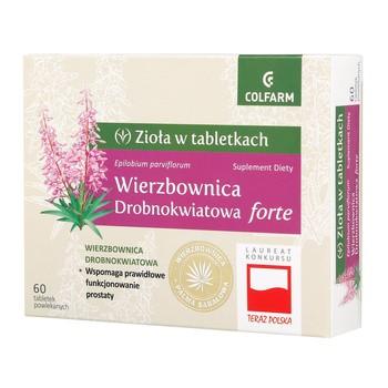Wierzbownica drobnokwiatowa forte, tabletki, 60 szt.