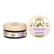 Green Pharmacy, masło do ciała, olej arganowy i figi, 200 ml