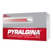 Pyralgina, 500 mg, tabletki, 20 szt.
