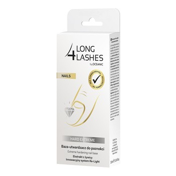 Long 4 Lashes Nails, ekstremalne serum utwardzające do paznokci, 10 ml