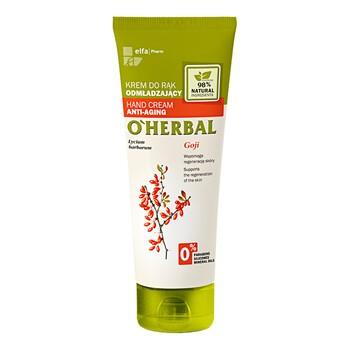 O`Herbal, odmładzający krem do rąk, jagody goji, 75 ml..